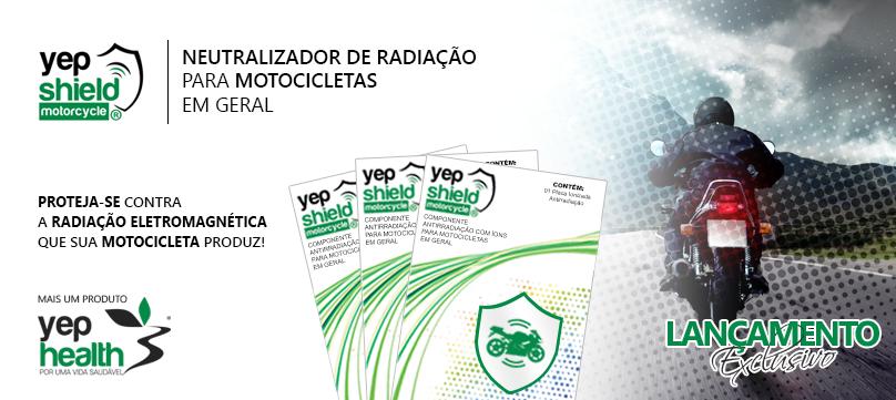 Lançamento, Neutralizador de Radiação para Motocicletas!