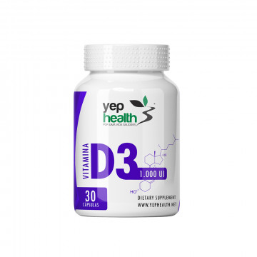 Vitamin D3 1,000 IU | 30 Sublingual Tablets