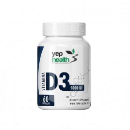 Vitamina D3 5.000 UI | 60 Comprimidos Sublinguais