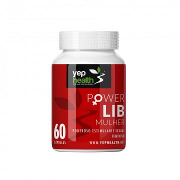 Power Lib Mulher | 60 Cápsulas