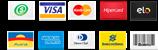 Mais de 25 formas de pagamentos através do PagSeguro!
